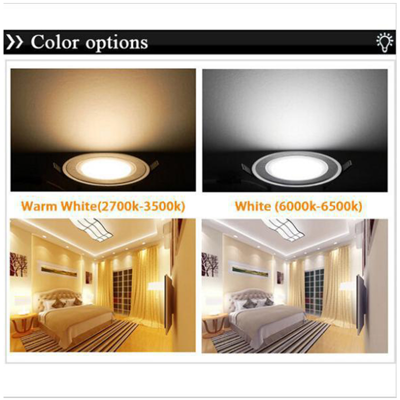 Image 5 - 3w 5w 7w 9w Anti Fog led downlight AC85 265V LED ceiling lamps Recessed Spot light Down Lights for home illumination-in LED Downlights from Lights & Lighting