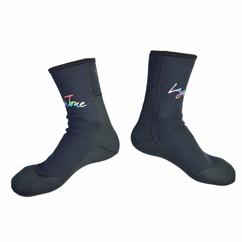 ダイビングソックス3ミリメートルネオプレンウェットスーツ靴下男性用スキューバダイビングシュノーケリング水泳スピアフィッシング水中狩猟