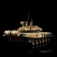 США со Быстрая Бесплатная 2.4 ГГц Henglong 1/16 Весы Пластик версия русская T90 RC RTR танк модели 3938 желтый