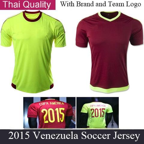 15 16 Venezuela camiseta de futbol Oswaldo Vizcarrondo Rondon Juan Arango Soccer  Shirts Copa America Venezuela Soccer Jersey 9d8f992ee