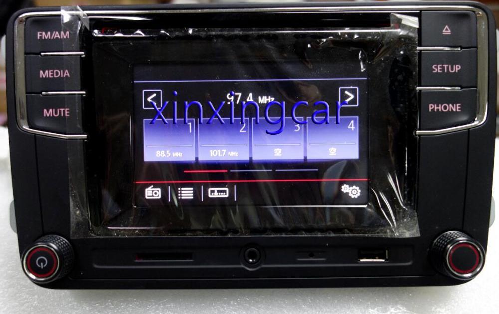 Autoradio Bluetooth nouvelle Version haute MIB RCD510 RCN210 RCD330 RCD330G pour Golf 5 6 Jetta CC Tiguan Passat 6RD 035 187 6RD035187