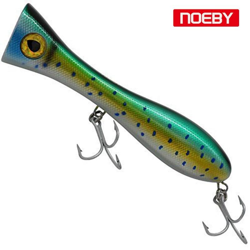 130g de Atum Iscas para a 1 Pcs Noeby Isca de Pesca Popper 205 cm Tarpon Material Rígido