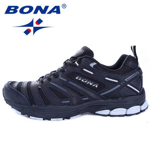 BONA Sneakers Athletic-Shoes Trekking Light Comfortable Outdoor Men Hot-Style New-Arrival