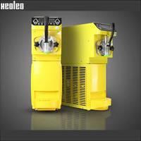 Xeoleo Commercial Mini Ice Cream Maker Soft Ice Cream Machine 16L H Could Make Sundae Ice