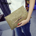Luxury Bling Handbags Envelope Women Clutch Bags Glitter Dinner Party Pouch Upper Class Ladies Hasp Phone Key Organizer Bags
