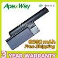 Apexway 6600 мАч 11.1 В Аккумулятор для Ноутбука Dell Precision M2300 для atitude D620 ATG D630c D631 D630 KD489 RD300 312-0384 JD775