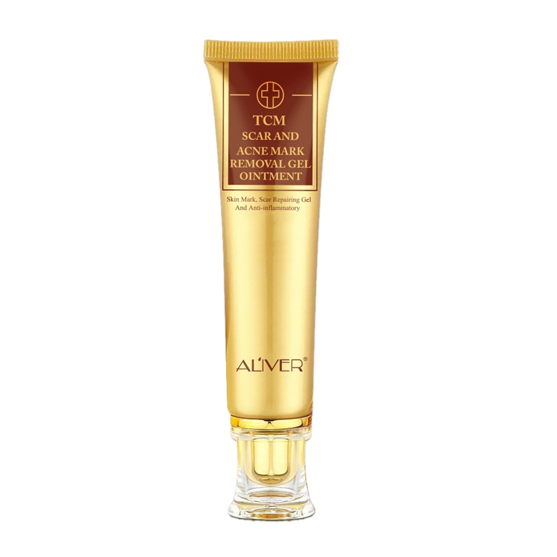 Aliver Acne Scar Cream Ginseng Essence Anti Acne Remover Cream Face Skin Care Spots Stretch Marks Remove Scar Cream 30G