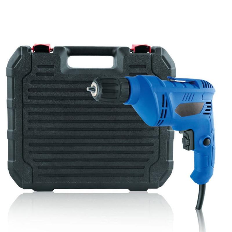220 v multifonction électrique perceuse tournevis positif négatif stepless commutateur perceuse ménage électrique outils de forage combo