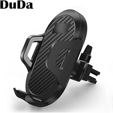 Car Smartphone Holder Universal Air Vent Mount Stand Mobile Phone Support for iPhone Xiaomi Samsung