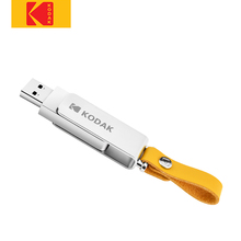 Kodak K133 флеш-накопитель USB 3,1 металлический USB флэш-накопитель 16 ГБ 32 ГБ карта памяти USB 3,0 64 Гб 128 ГБ U диск 256 ГБ Флешка USB