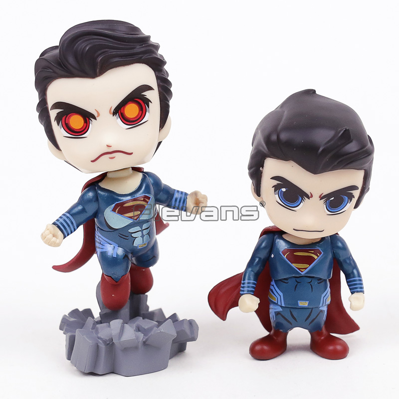 Batman V Superman: Dawn of Justice Superman PVC Figure Cosbaby Collection Toy Doll 2 Styles ...