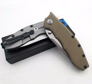 Image 5 - JSSQ cuchillo plegable con rodamiento de bolas, hoja ELMAX, Flipper, Navajas de bolsillo táctico, caza, supervivencia, EDC, herramientas al aire libre, OEM