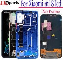 Amoled дисплей xiaomi mi 8 ЖК сенсорный экран дигитайзер сборка xiaomi mi 8 дисплей с рамкой для xiaomi mi 8 сменный экран
