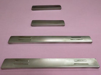 Stainless Steel Side Door Sill Cover / Scuff Plate Trim 4Pcs/Set For Hyundai Accent 2006 2007 2008 2009 2010 2011 2012 2013