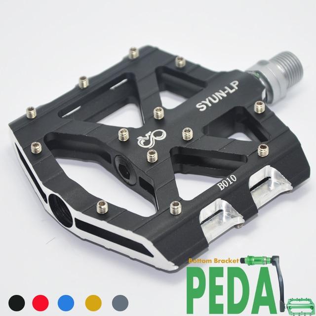古典的な SYUN LP 超軽量 DH MTB BMX breaing 合金プラットフォーム自転車ペダル