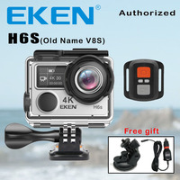 Action Camera Deportiva EKEN V8S Ultra HD 4K Ambarella A12 WiFi Electronic Image Stabilization Go Waterproof