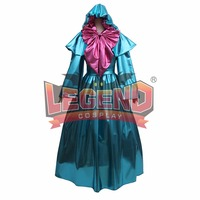 Cinderella godmother Cosplay Costume adult Halloween costumes for women fancy fairy Godmother Costume dress
