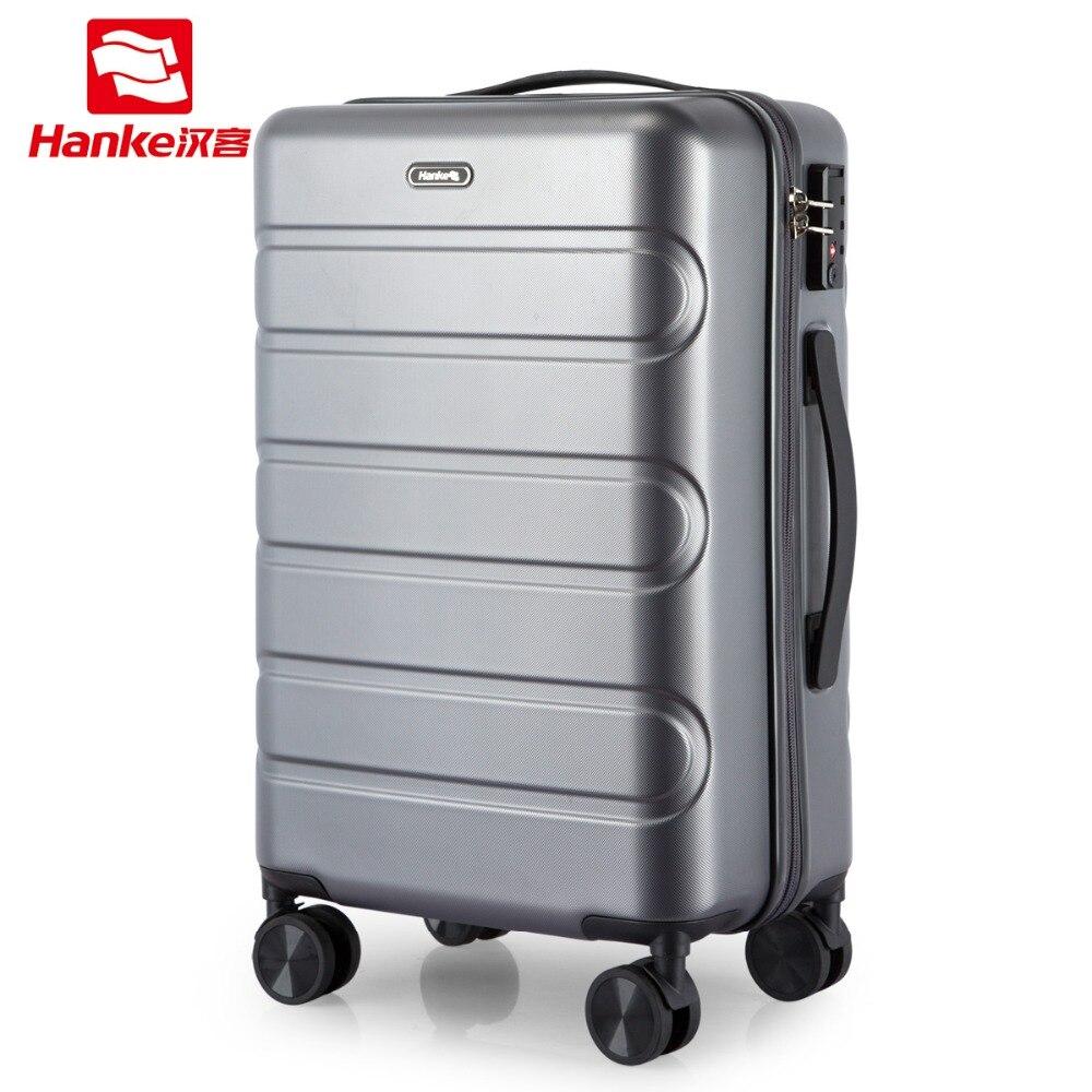 Новый Hardside Сумки на колесиках сумка чемодан 2019 для женщин Carry On Spinner прочная тележка для мужчин Путешествия Cabin Case колёса H9800