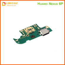 For Huawei Google Nexus 6P USB Charging Port Dock Connector Charger Board Flex Ribbon Cable With Microphone Replacement цена