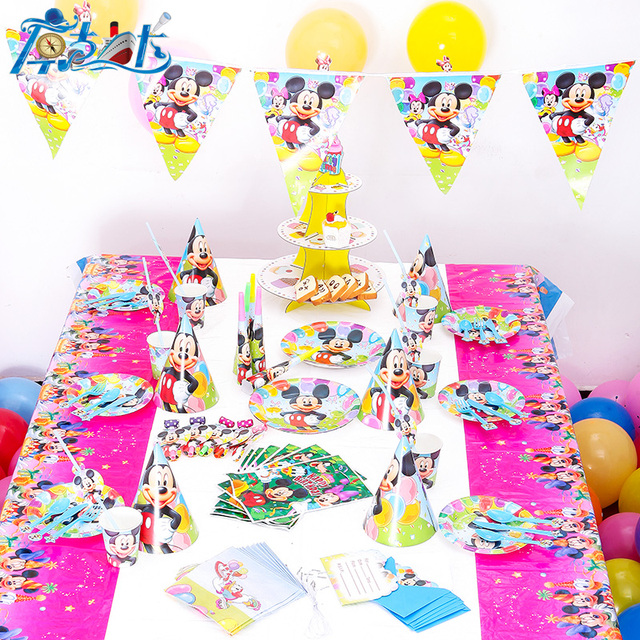 Luxus 78 90 Teile Los Neue Kinder Birthday Party Decoration Set Geburtstag Baby CarsTheme