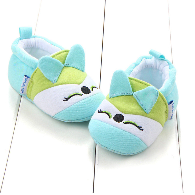 2019 Cute Baby Shoes Newborn Toddler Baby Boy Girl Crib Shoes Cartoon Animal Soft Sole Non-slip Infant Baby Shoes