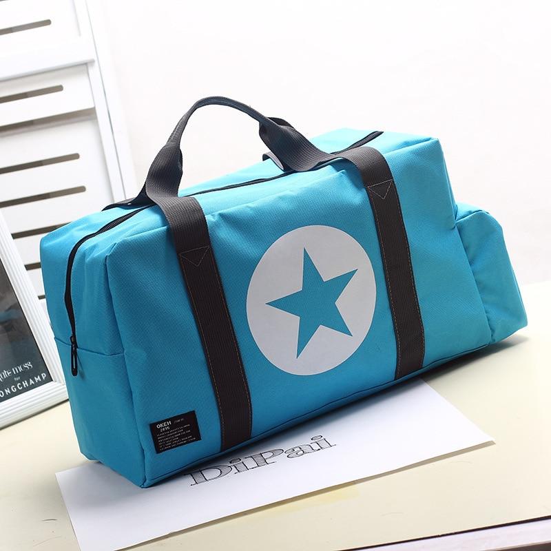Unisex Sports Bag Travel Outdoor Shoulder Bags Handbag Tote Sports Bags Duffel Men Cross ...