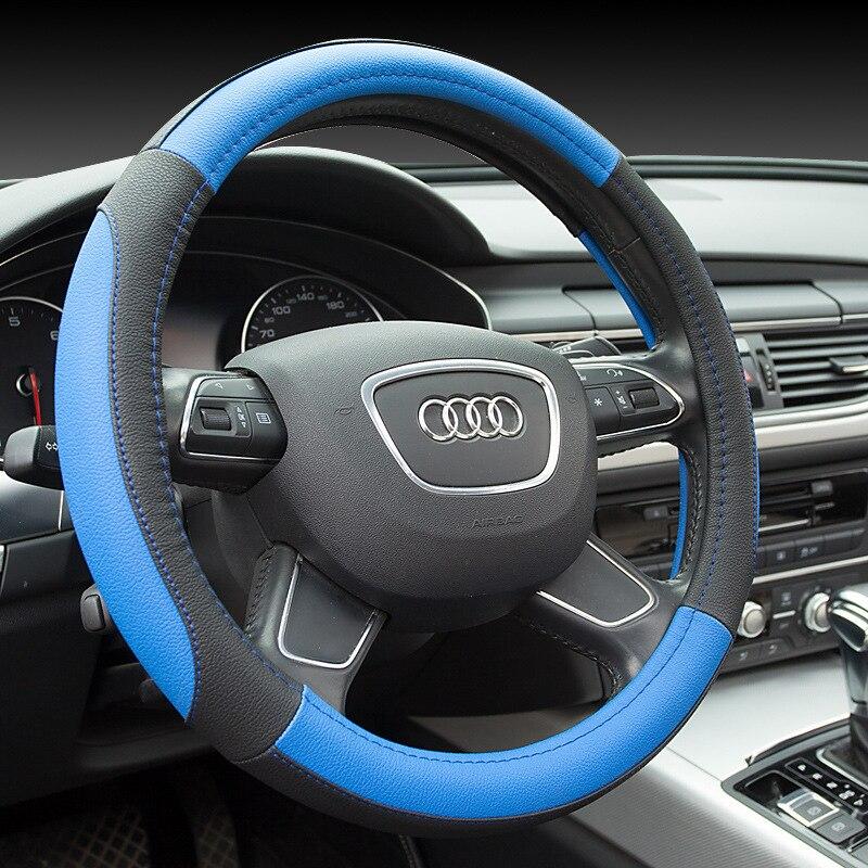 Nuevo deporte de lujo cubierta del volante del coche Seansons - Accesorios de interior de coche - foto 3