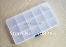 Excellent mutifunctional plastic Storage box with 15 files
