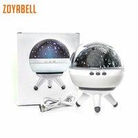 Zoyabell Rotating Night Light Star Projector Baby Kids Sleep Romantic Led Spin Starry Sky Star Master