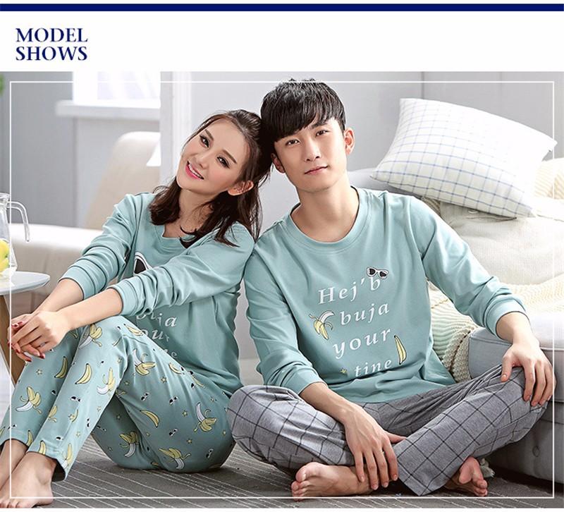 lovers pajamas couple sleepwear 03