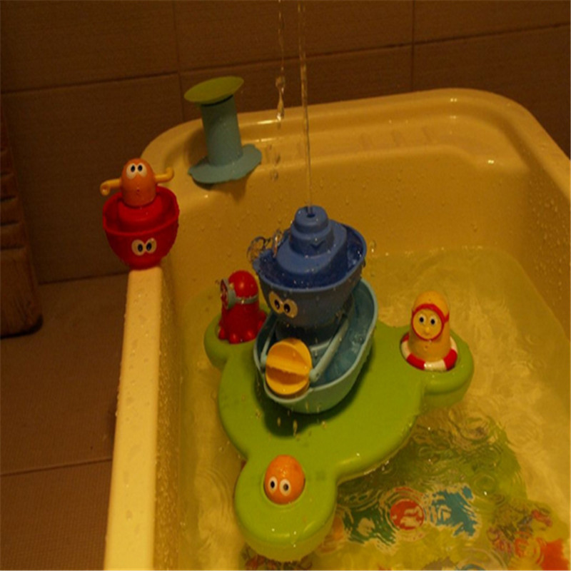 40*12*27cm baby bath toy for baby take bath playing water fountain ...