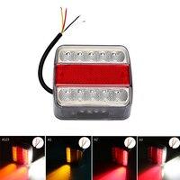 High Quality LED Truck Tail Light DC 12V 14 Leds Car Warning Lights Waterproof Trailer Boat