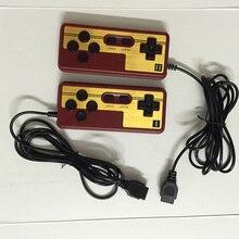 2 unids Gamepads 9 Agujeros de Reserva de juego Para TV 8bit jugador del juego longitud del cable 1.8 m Juego Joypad Envío gratis