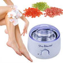 Depilatory Hard Wax Beans for Hair Removal Heater Kit 100g