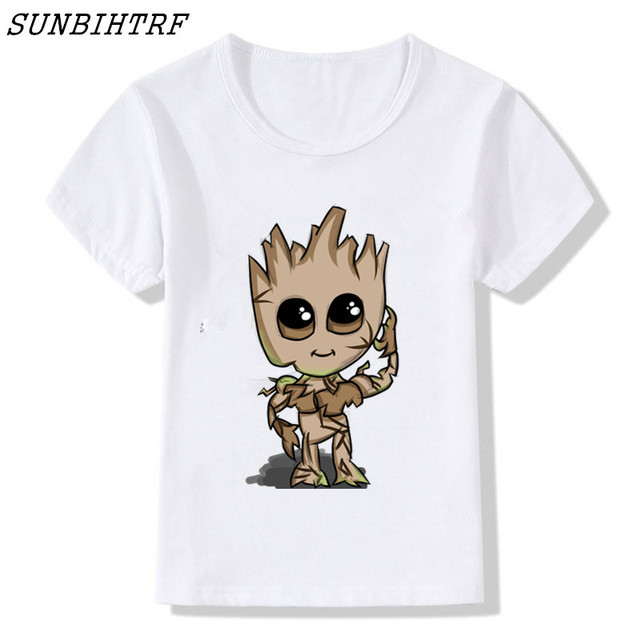 a7512b4e1a3 US $2.99 |Guardians of the Galaxy 2 kids t shirt Anime baby pop groot  Summer funny I AM GROOT T Shirt Children Cool Tops Tees T shirt-in T-Shirts  from ...