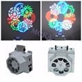 2pcs/lot 8X3W with 8 Gobo RGBW CREE LED Stage Effect Light 7 channels DMX Stage KTV Disco DJ Effect Lighting