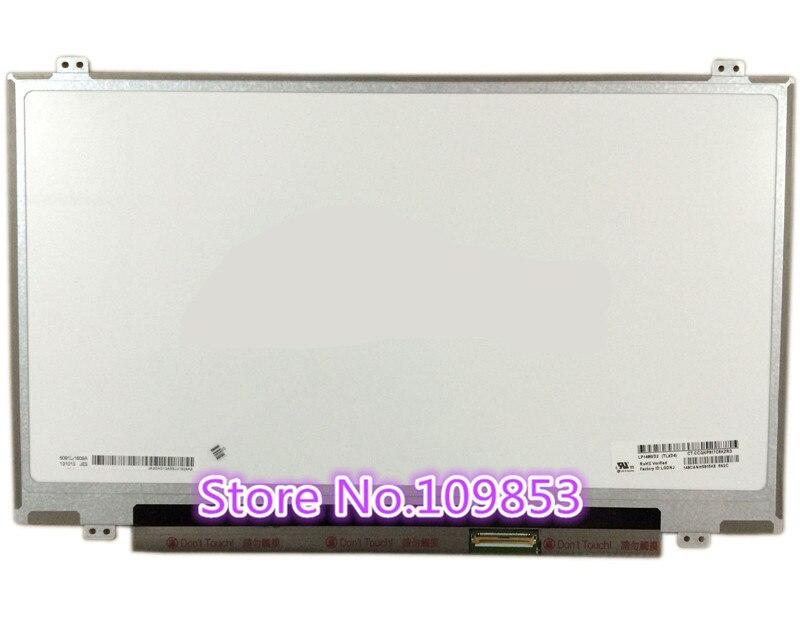 14 pouces Slim LED Panneau D'écran D'ordinateur Portable N140FGE-LA2 B140RW02 V.0 v0 v1 v2 V.1 V.2 LTN140KT03 LP140WD2 TLC1 1600X900