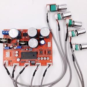 Image 2 - LM4610 Stereo HIFI Pre amp Preamplifier Tone Board Audio Amplifier OP275 OPAMP Volume Tone Control