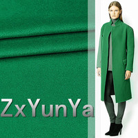 2017 new 148cm wide cashmere wool fabric high end green high quality wool cashmere fabric autumn and winter wool coat fabric