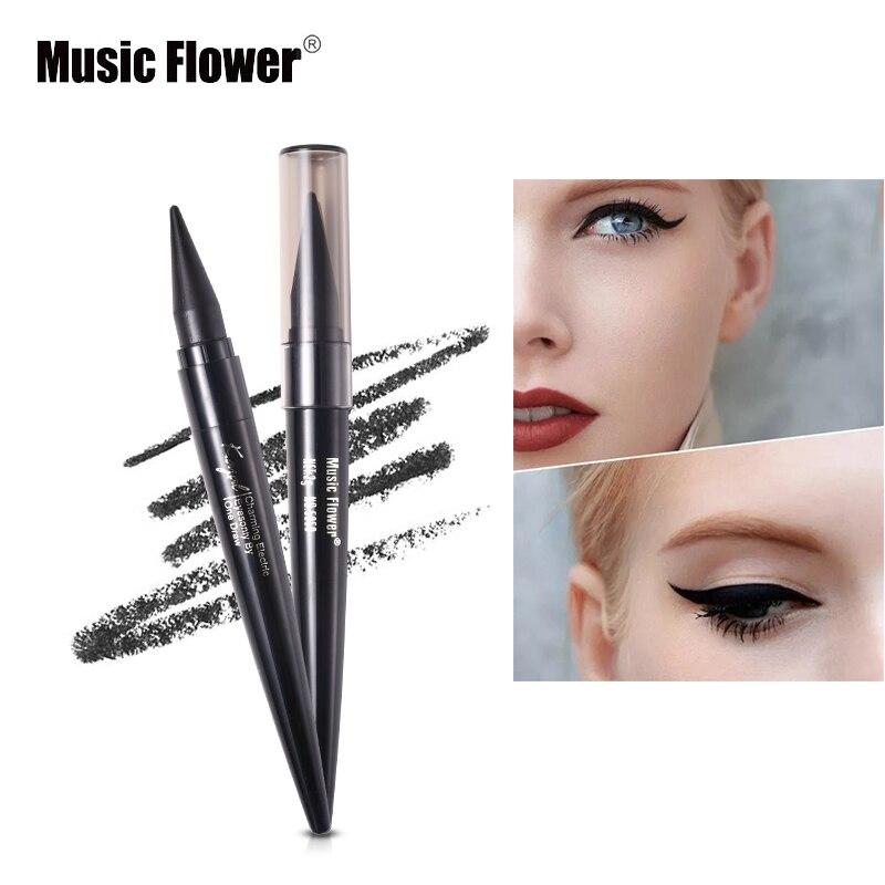 Music Flower Eye-Eye Eyeliner Three-color Long-lasting Waterproof Eyeliner HR