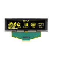3.12 inch Vàng Màn Hình OLED LCD 256X64 OLED LCD LED Hiển Thị Module với SSD1322 Drive IC cho Arduino