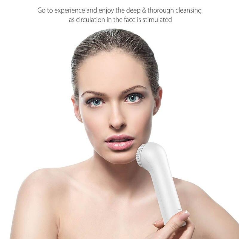 Nouveau nettoyant électrique pour le visage Instrument de nettoyage des pores imperméable à l'eau soins du visage USB charge HJL2018