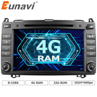 Eunavi 2 Din Octa 8 Core Android 6 0 1 Car DVD GPS For Mercedes Benz