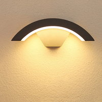 8W Wall Light LED Waterproof Garden Light IP65 Outdoor Wall Lamp Surface Wall Mounted Courtyard Led light Wall Sconce BL14
