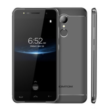 HOMTOM HT37 PRO 4G Smartphone MTK6737 Quad Core 3G RAM 32G ROM 5.0 Pouce 1280*720 Android 7.0 3000 mAh D'empreintes Digitales ID Smartphone