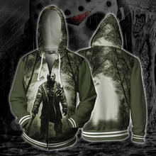 Game Friday the 13th Cosplay Anime Hoodie Costume Sweatshirt Jacket Coats Men Women