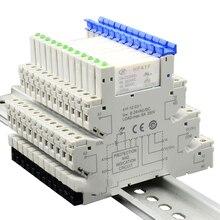 HF41F 24-ZS 1 шт. интегрированное печатное Крепление Реле питания с держателем реле 24VDC 6A 5 Pin HF41F-24-ZS реле напряжения