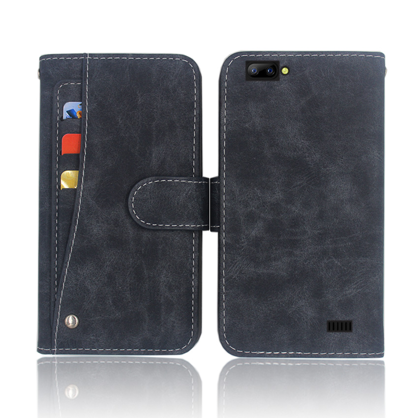 Hot! Blackview A7 Case High quality flip leather phone bag cover case for with Front slide card slot