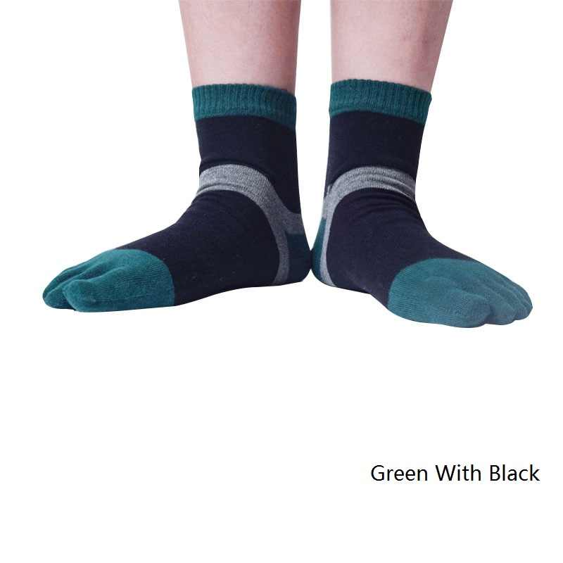 Neueste Männer Fünf Finger Zehen Socken Anti-fußpilz Gesundheitswesen Massage von Biegeverformung für Männlich Compression behandlung