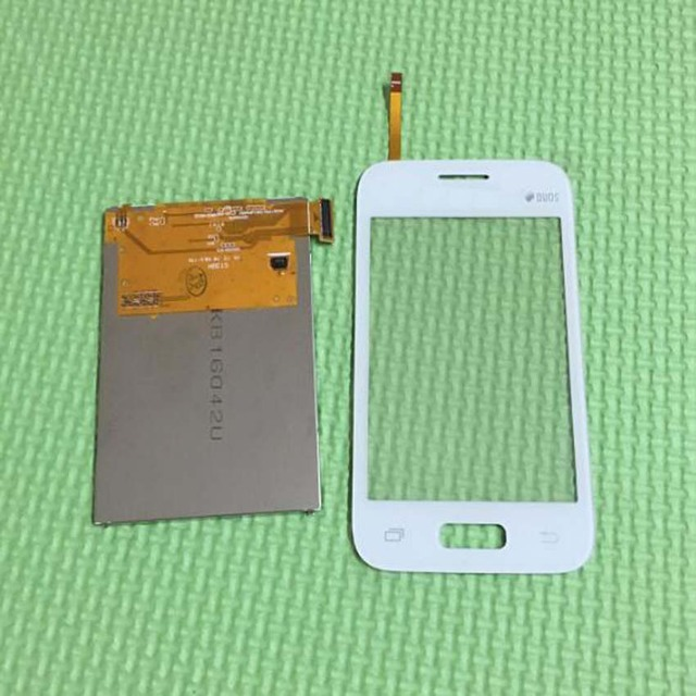 Melhor Qualidade Display LCD + Touch Screen Digitador de Vidro Sensor Para Samsung Galaxy Jovem Duos 2 G130 G130H Telefone Móvel reparação Parte